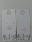 Accucut #10 Jacket Card wine tag gift tag bottle hanger pocket card